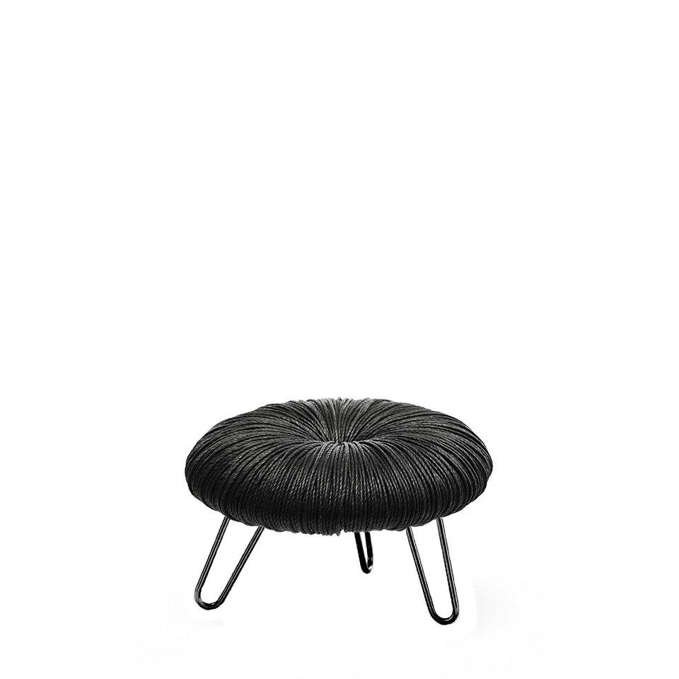 Donut_All_Black_Pouf_1